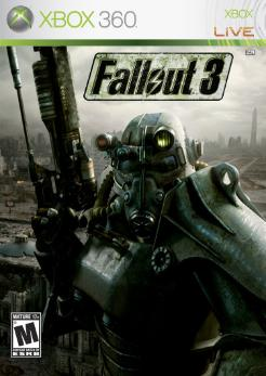 A popular xbox 360 game Fallout 3